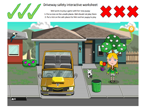 screenshot of lower primary school activity sheet