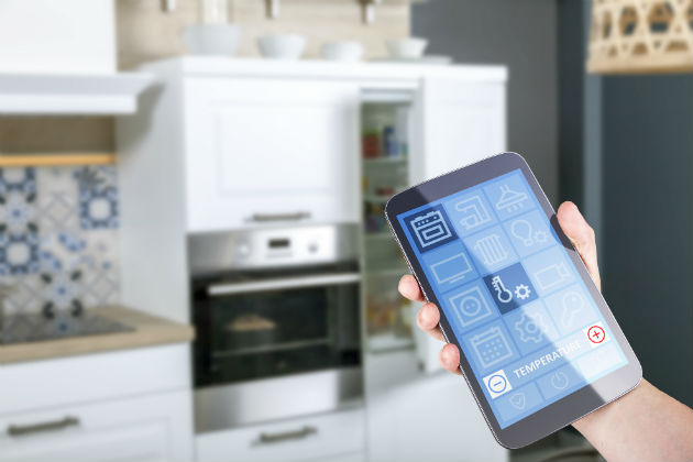Internet of Things home automation concept