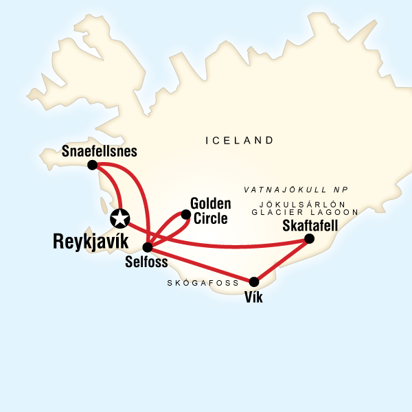 Iceland G Map