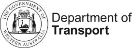 W.A. Department of transport - logo
